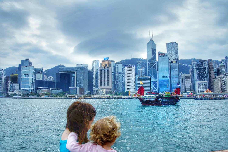 Hong Kong with a toddler