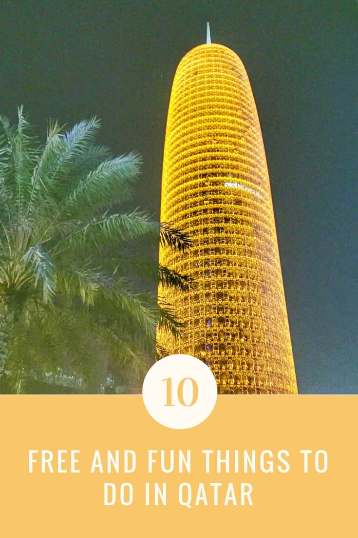 10 Free and Fun things to Do in Qatar, Free things to do in Qatar, Fun things to Do in Qatar #Doha #Qatar #visitqatar