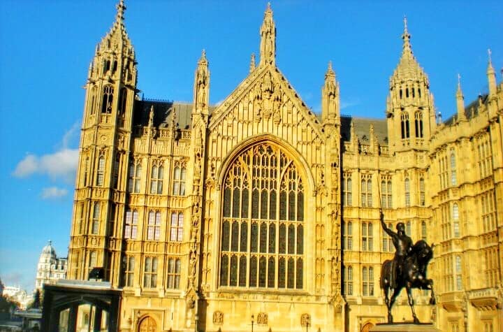 london itinerary 4 days - Houses of Parliament