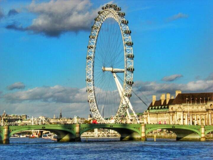 London Eye - perfect thing to add to your London 4 day itinerary with family