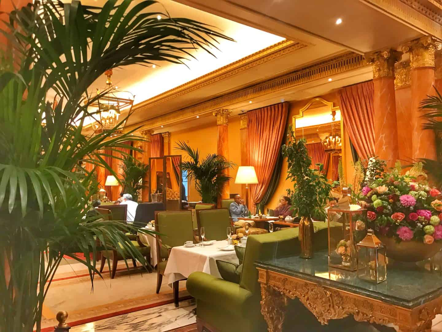 Art Deco afternoon tea at The Dorchester London and Mayfair walking ...