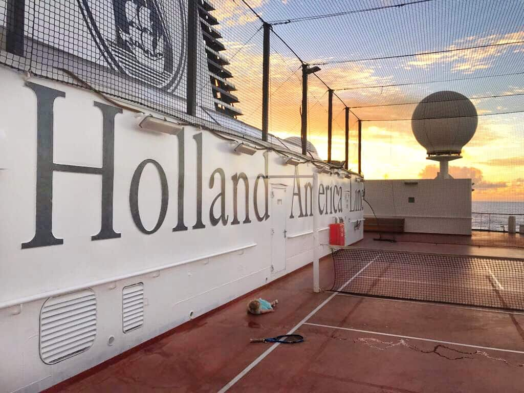 Holland America Cruise while Pregnant