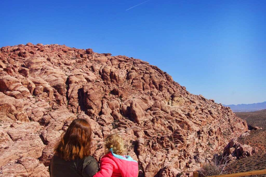 Visiting Las Vegas with toddlers isn't complete without a day trip to Red Rock Canyon