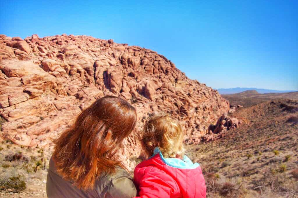 Visiting Red Rock Canyon with Kids