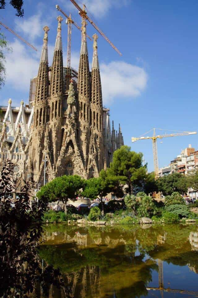 Sagrada Familia - Best Things to Do in Barcelona with Baby, Toddlers or Young Kids