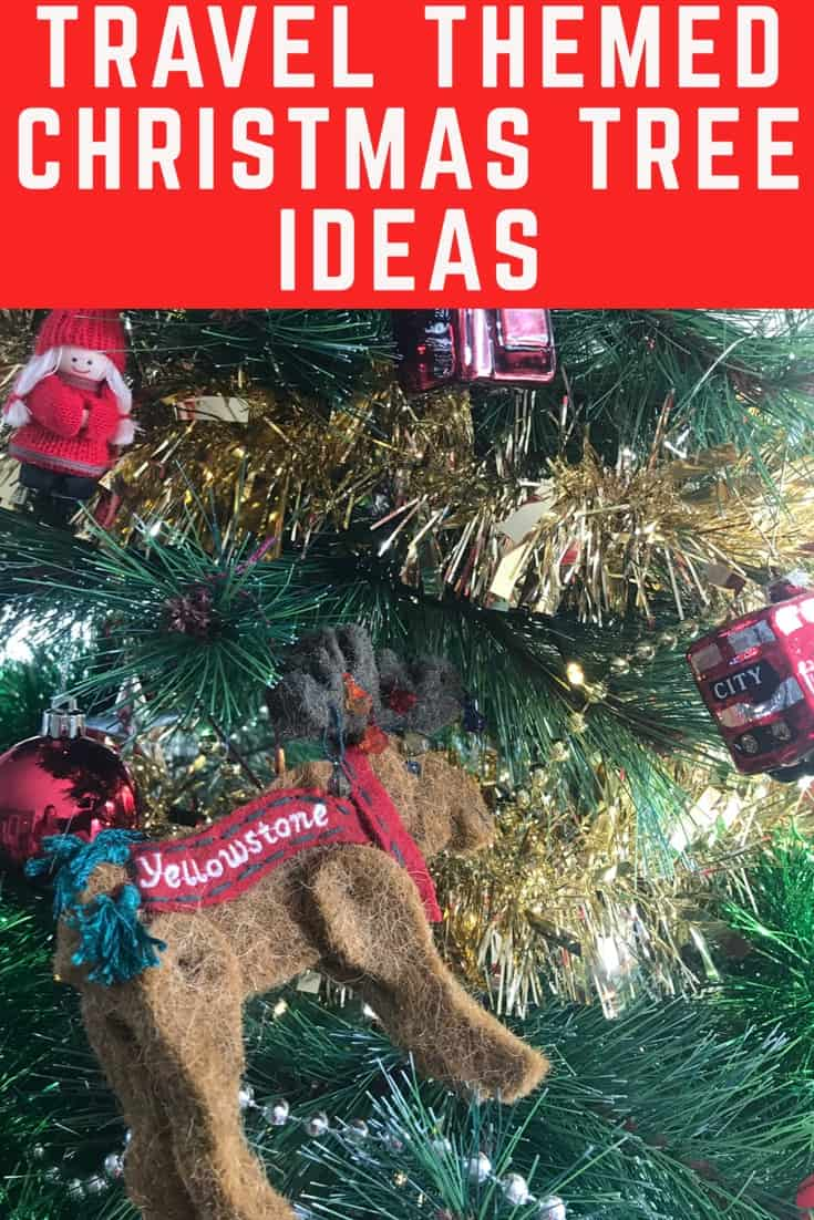 How to have a travel themed christmas tree ideas - best travel christmas ornaments