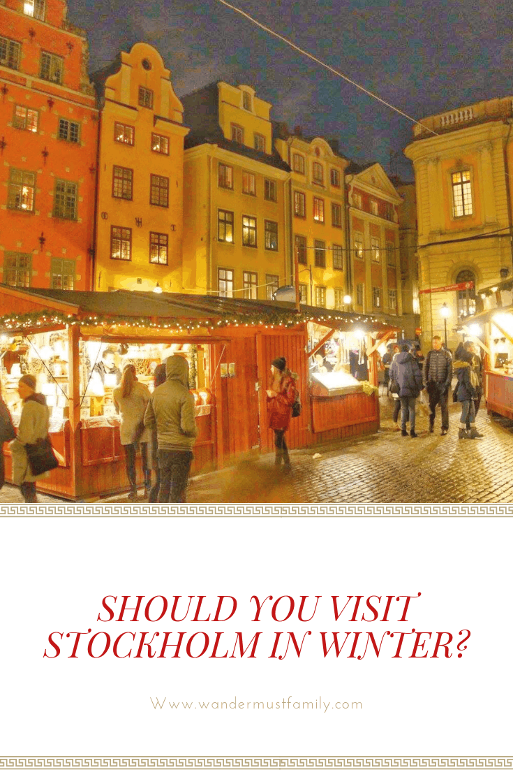 Why you should visit Stockholm in winter - visiting Stockholm in winter