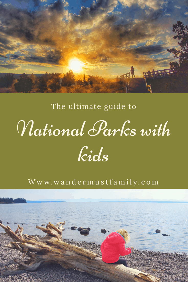 Best USA National Parks to visit with kids #wandermustfamily