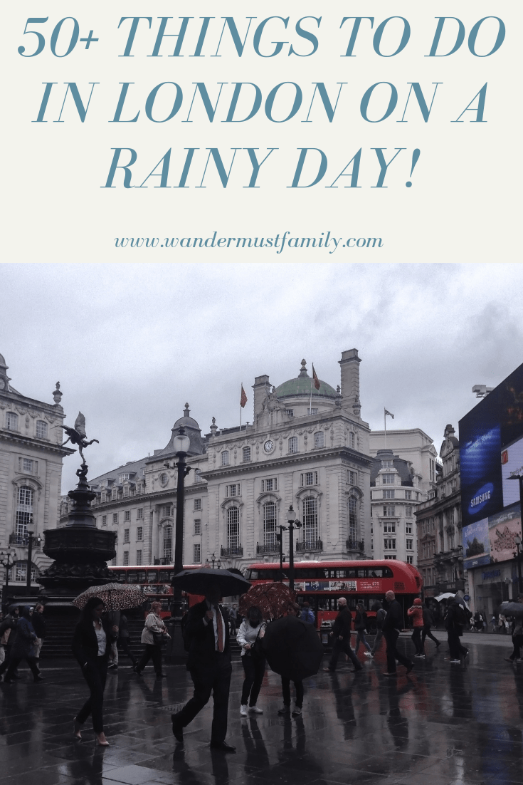 things to do in London on a rainy day! Rainy day in London. What to do in London when it rains #london#londontravel