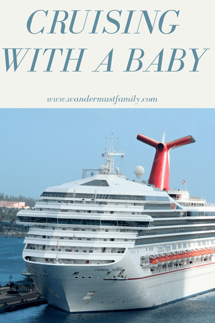 Cruising with a baby - how to cruise with a baby - can I take a baby on a cruise - are cruises baby friendly