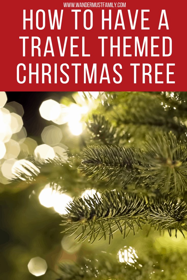 Hot to have a travel themed Christmas tree - the best travel Christmas ornaments