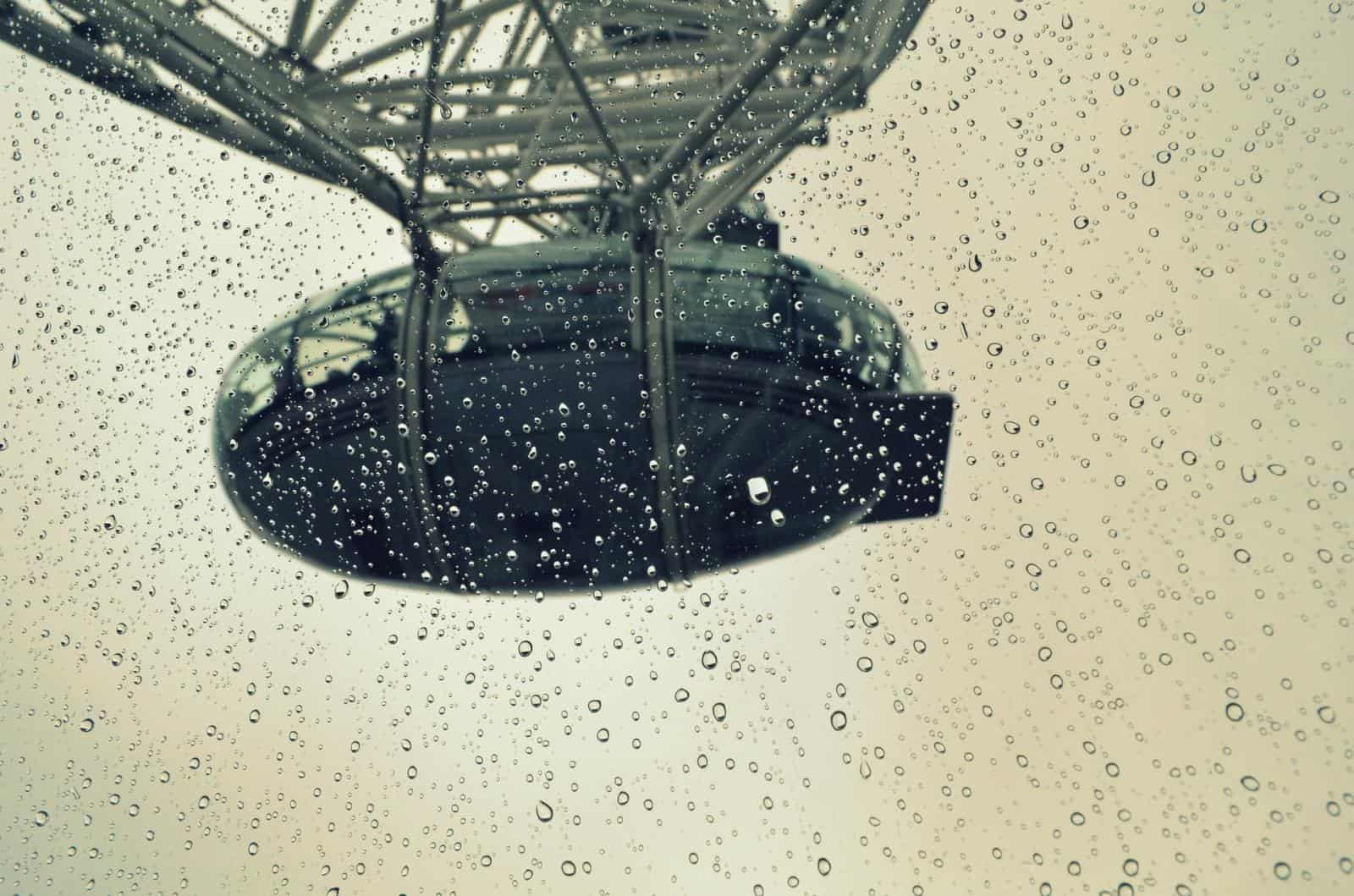 London Eye - Best indoor activities in London in the rain