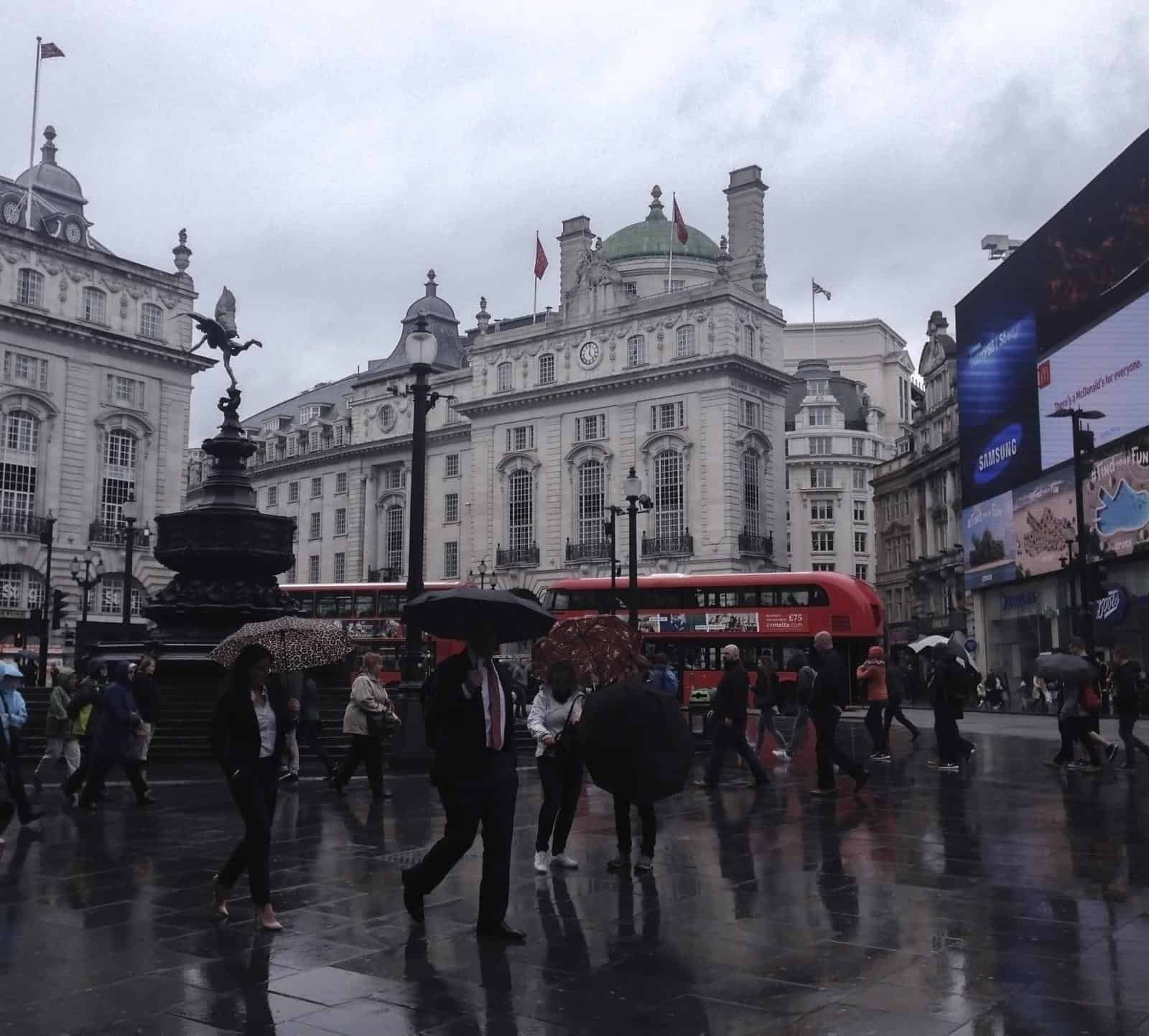 Things to do in London in the rain