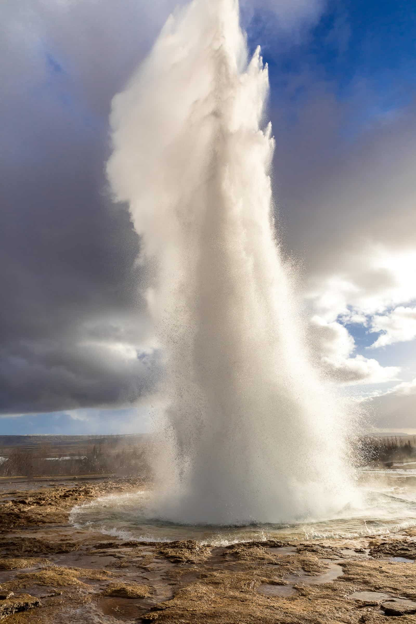 Best things to do on Iceland's Golden Circle in March - Watch Strokkur Erupt