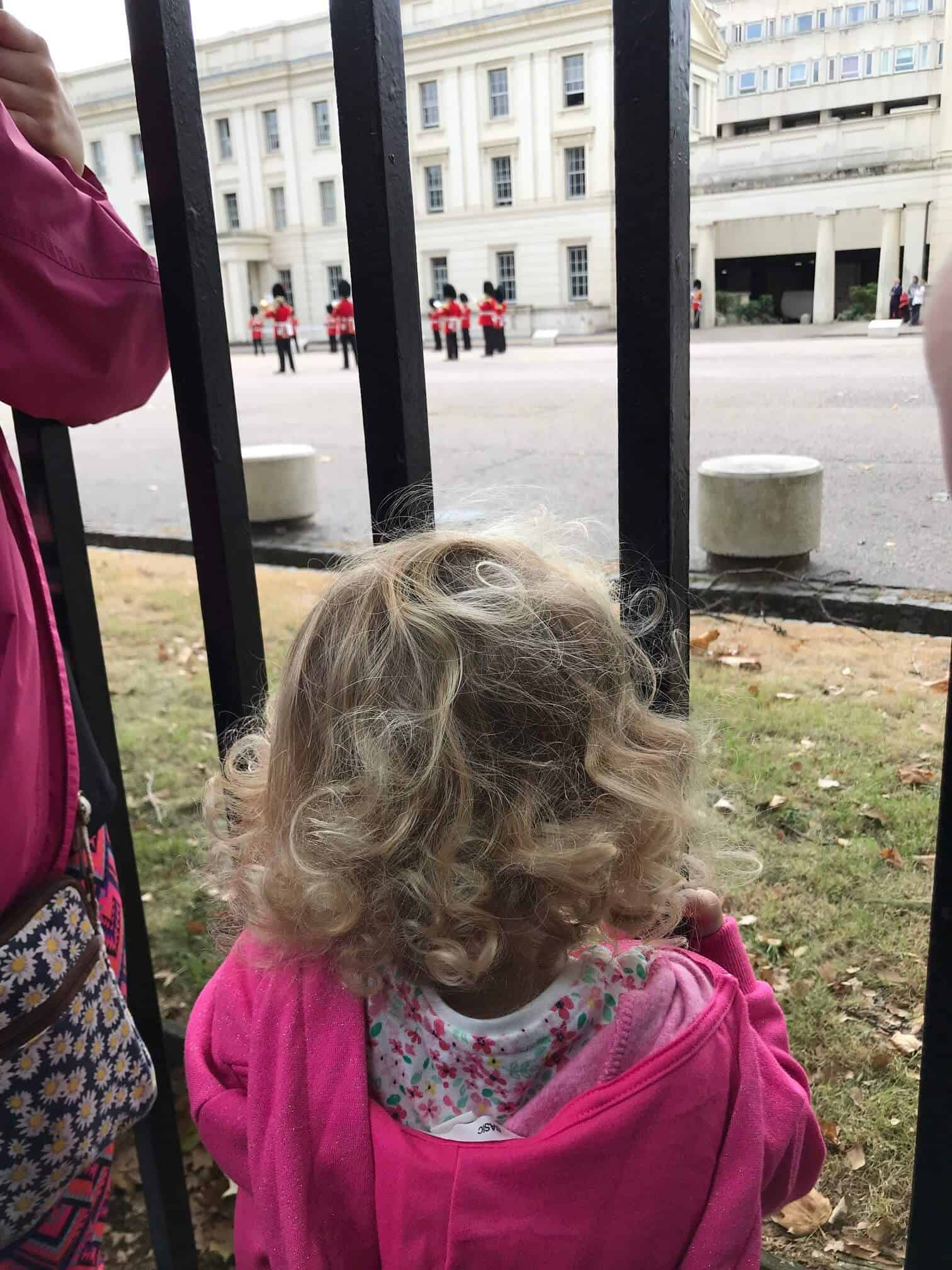 Where to Watch the Changing of the Guard with kids or without. Watching changing of the guard with children