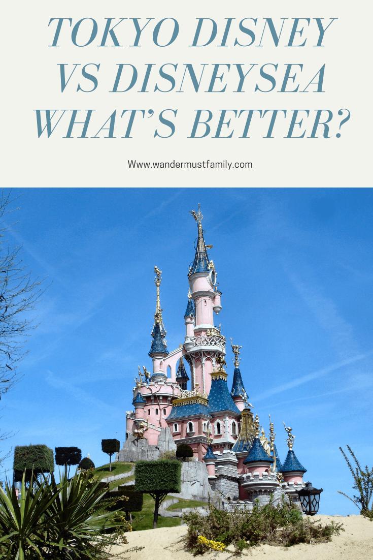 What's better Tokyo Disney or Disneysea! Tokyo Disneyland vs Tokyo DisneySea