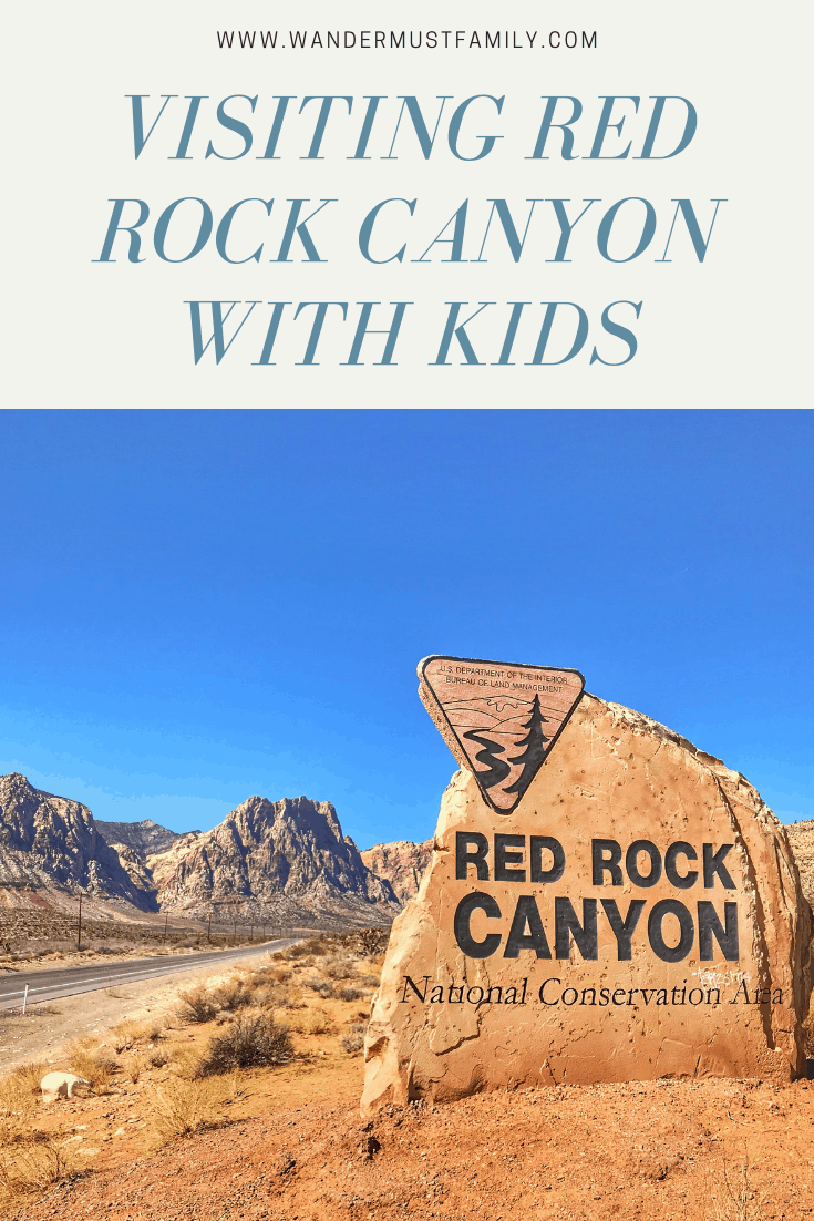 Visiting Red rock canyon with kids, best things to do near Vegas