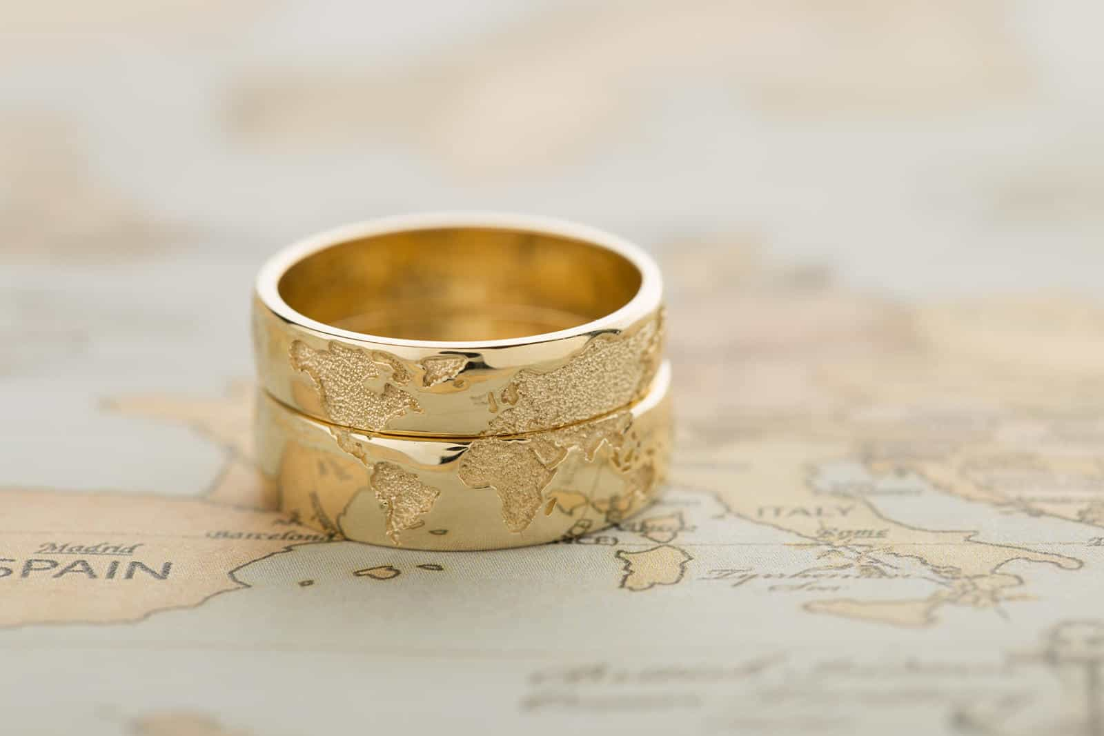 This is a graphic of Travel Inspired Jewelry - the perfect jewelry for travel lovers