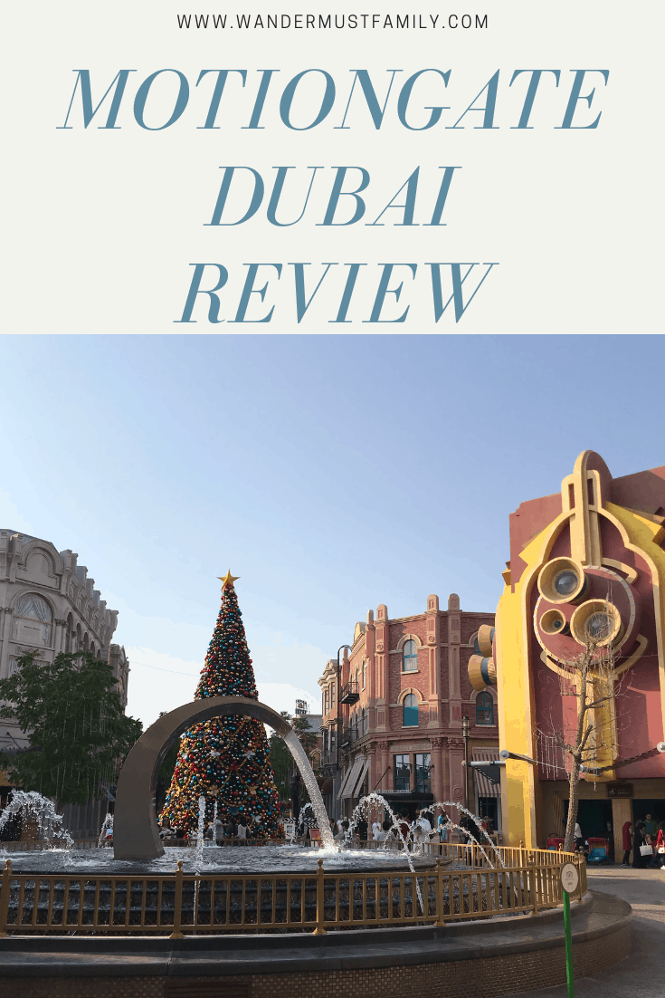 Motiongate dubai Review