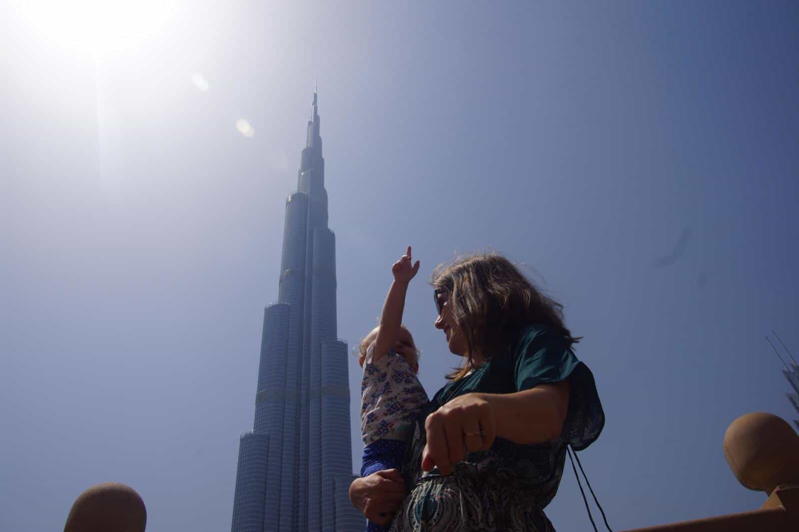 Tips for Visiting Dubai with a Baby or Toddler or visiting dubai while pregnant