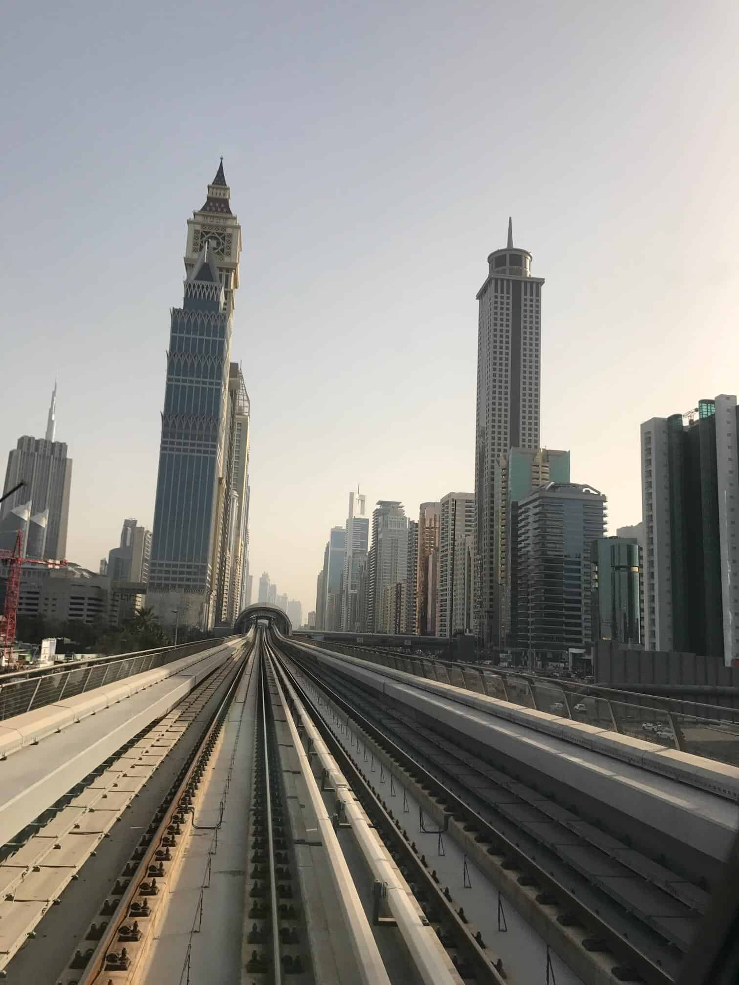 Getting around Dubai with a baby or toddler