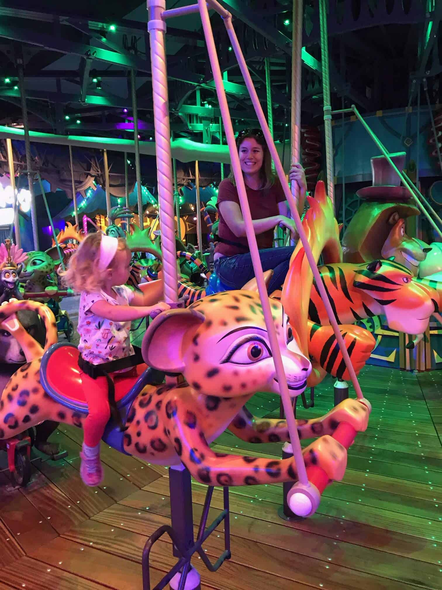 Motiongate dubai with toddler and baby - one of the best indoor things to do in Dubai
