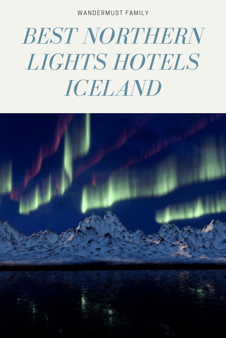 Best Northern Lights hotel Iceland #northernlights #iceland
