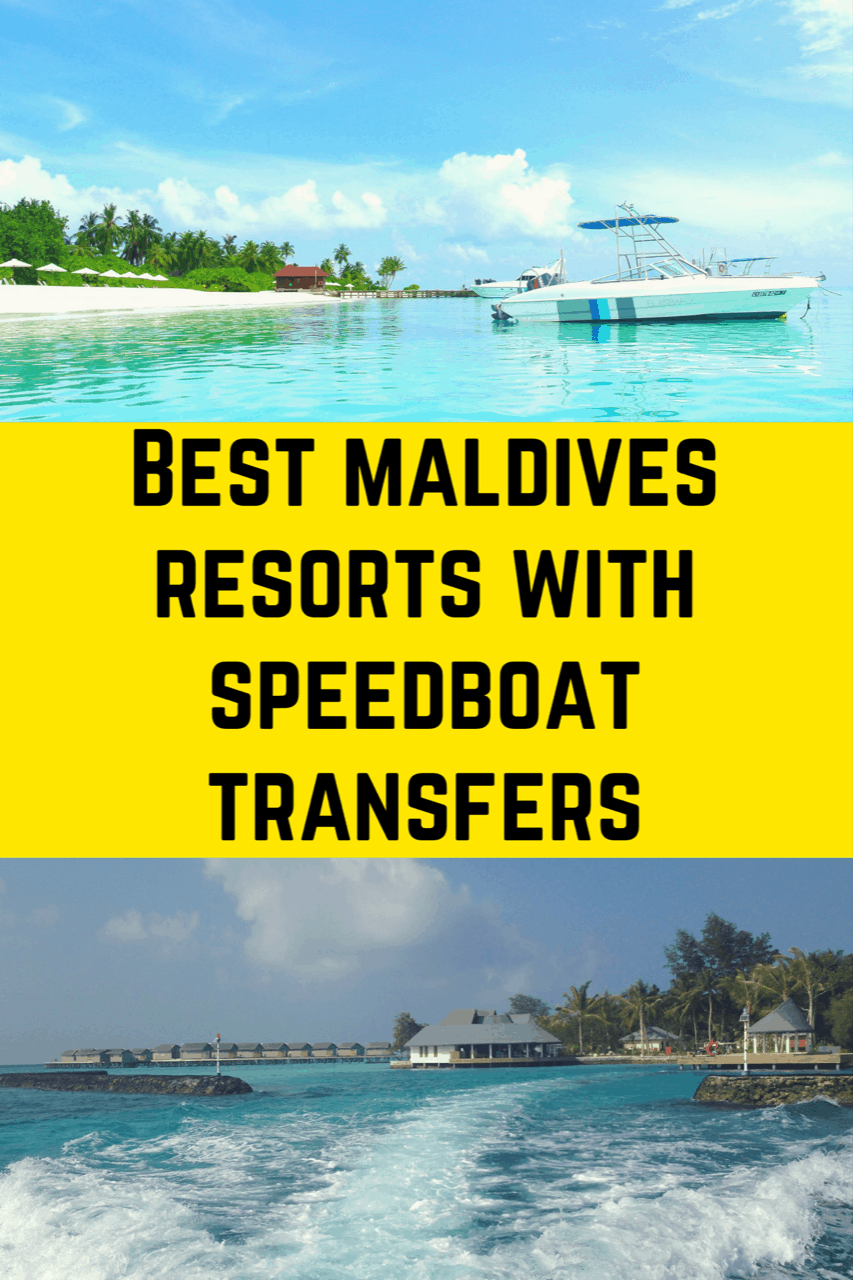 Best Maldives Resorts with Speedboat Transfers - Maldives Resorts with speed boat transfers - where to stay in the maldive - #maldives #maldivestravel #luxurytravel #bandosmaldives #maldivesbyboat #maldivesresort #maldivesbeaches #familyfriendlymaldives