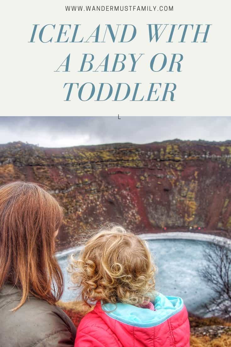 Iceland with a baby or toddler #iceland #familytravel