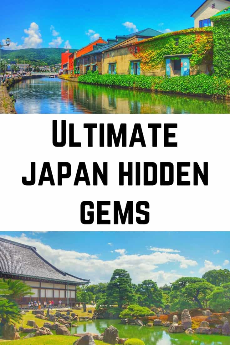 Japan Hidden Gems - Hidden Places of Japan - Japan Travel #japan #japantravel #tokyobucketlist #japanhiddengems #bucketlist #travelbucketlist