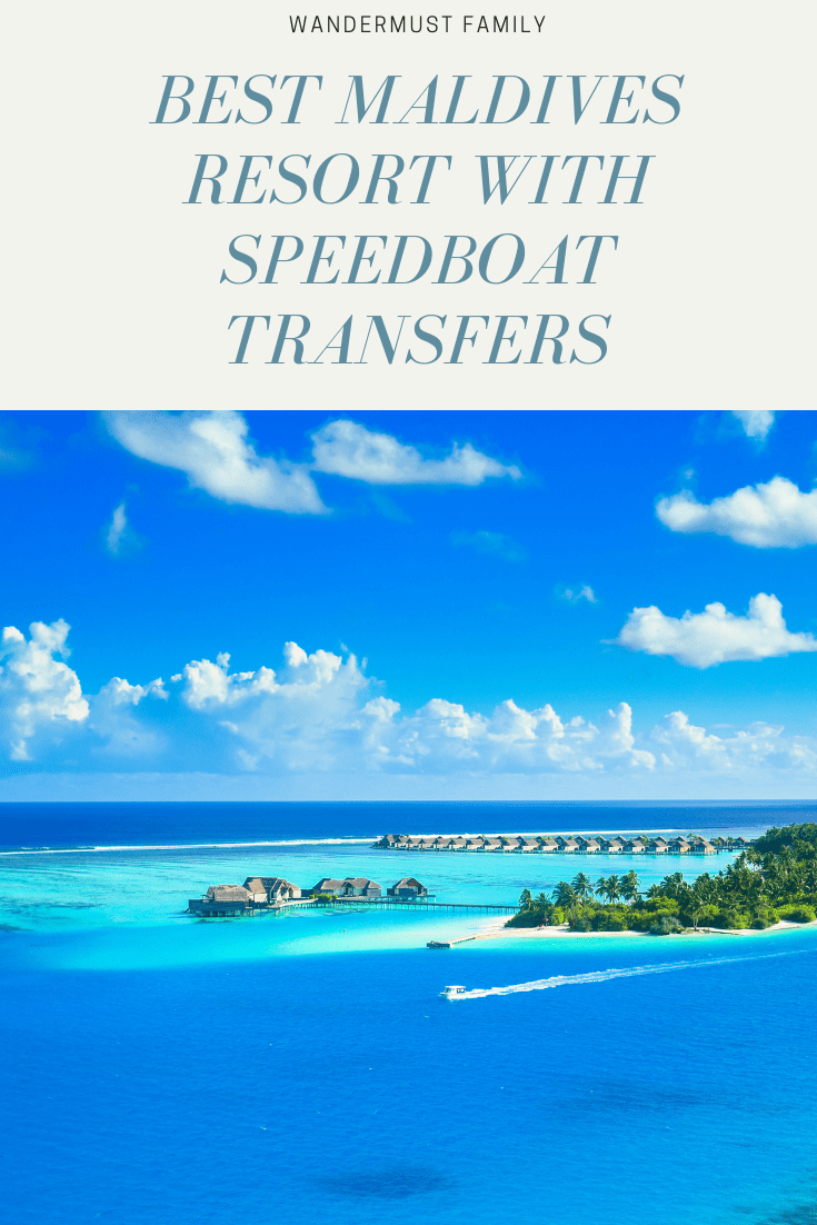 Best Maldives resorts with speedboat transfers #maldives #themaldoves #travel #boat