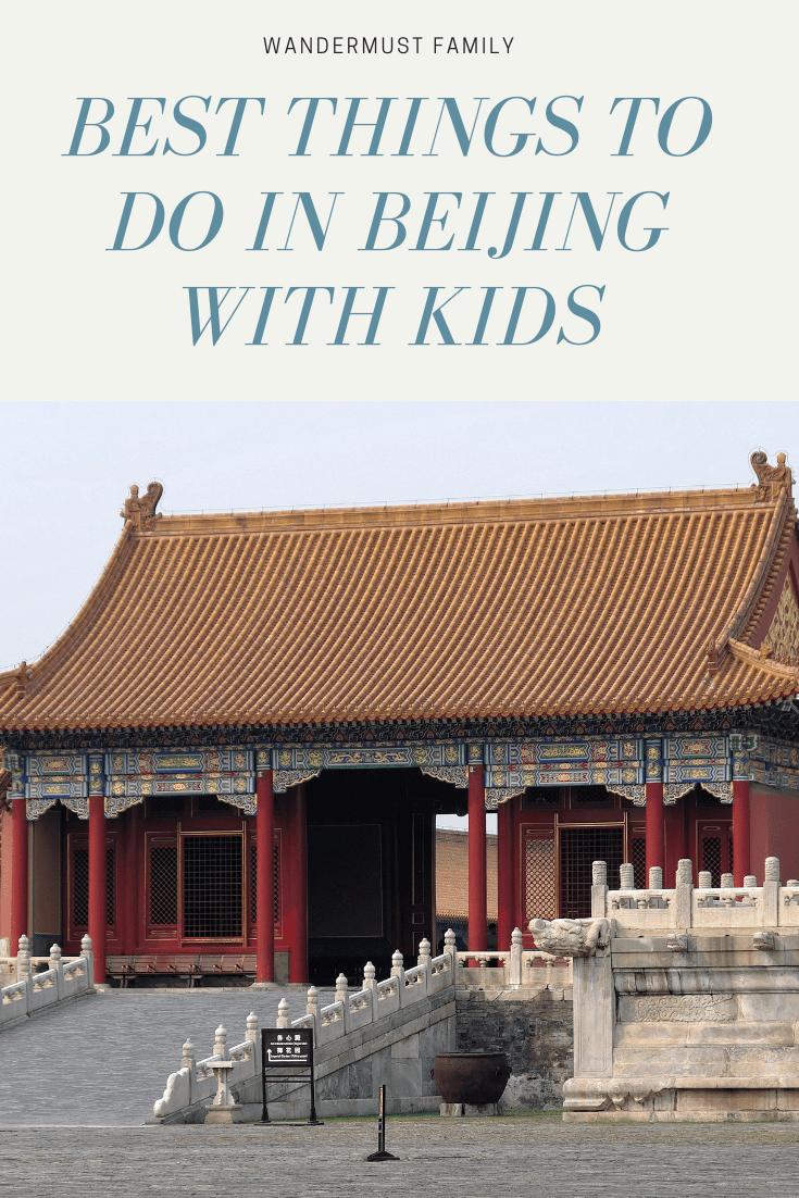 Best things to do in Beijing with kids #beijing #kids #familytravel #china