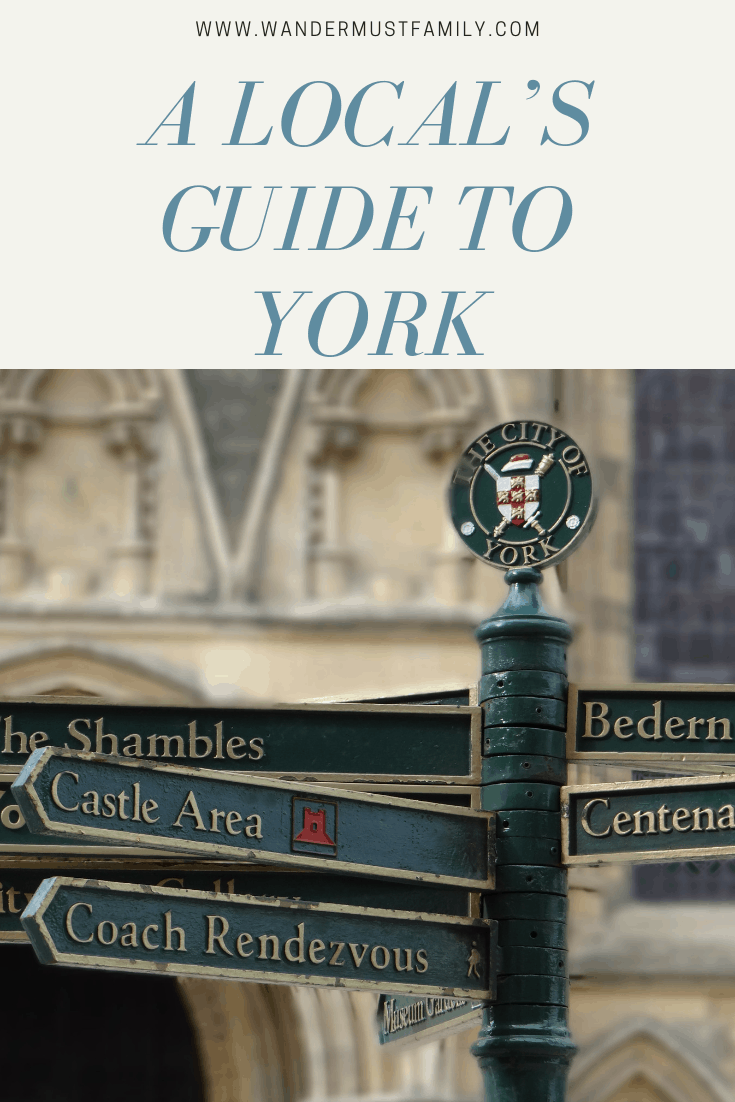 A locals guide to York, things to do on york #familytravel #likealocal #york #yorkengland