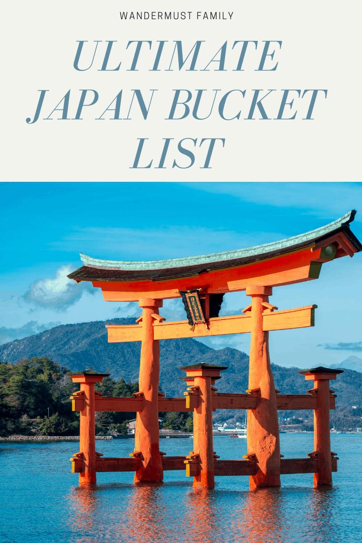 Ultimate japan bucket list including japan hidden gems #japan #kyoto #bucketlist #hiddengems