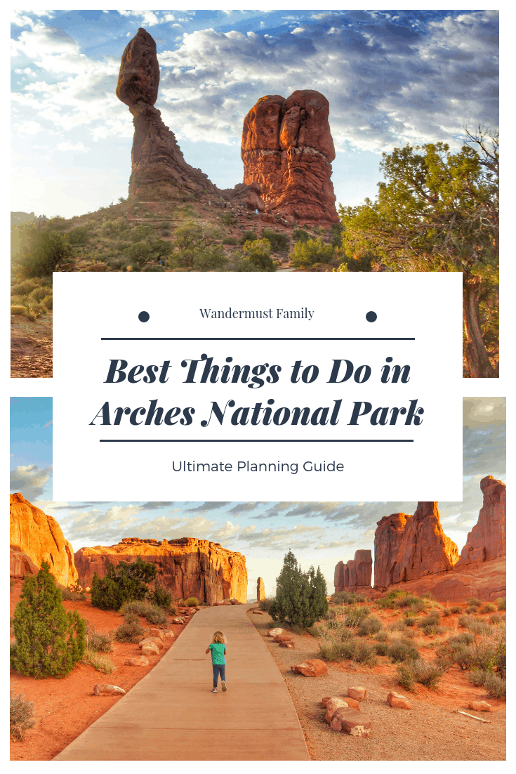 Best things to do in arches national park with kids #nationalpark #nationalparkgeek #familytravel #usatravel #archesnationalpark #moab