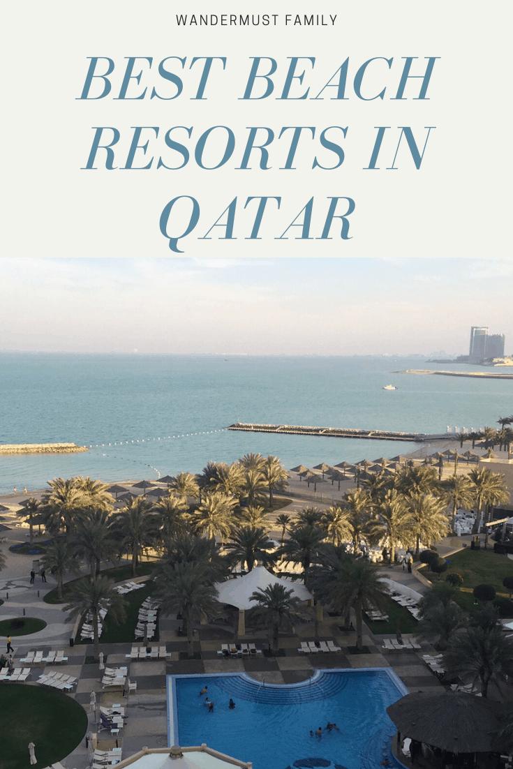 Best Qatar beach hotels - best beach resorts in Doha #qatar #doha #beach #beachresort