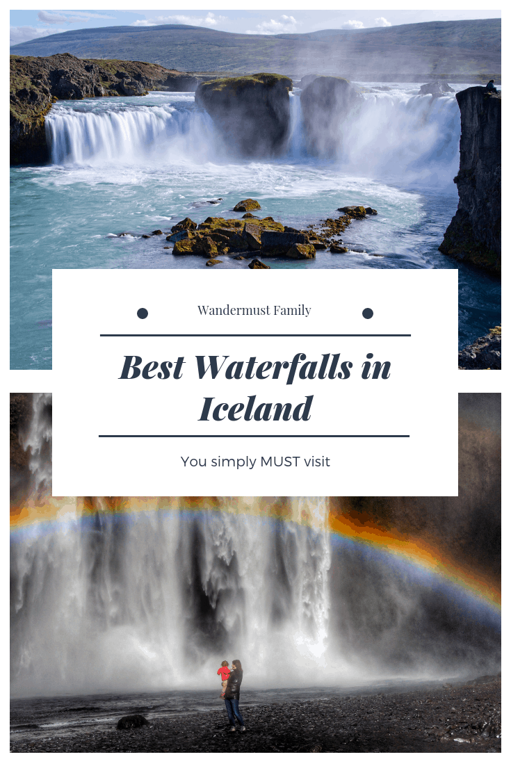 Best waterfalls in Iceland #iceland #waterfalls #visiticeland #wandermust