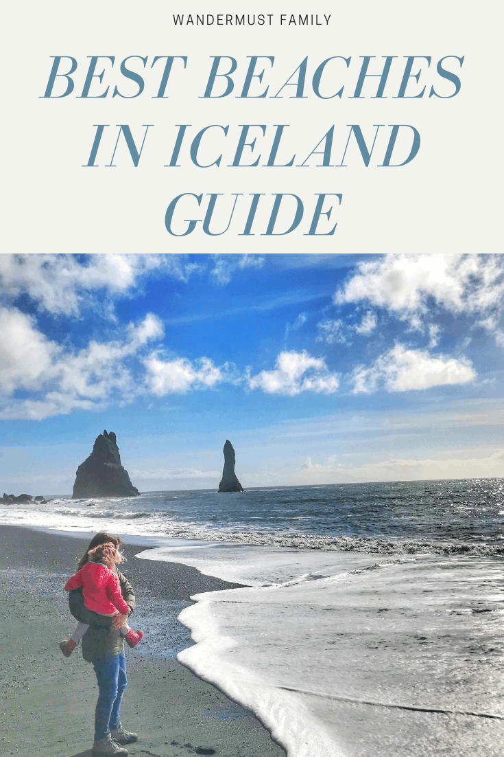 Best beaches in Iceland including best black sand beach in Iceland #iceland #blacksandbeach