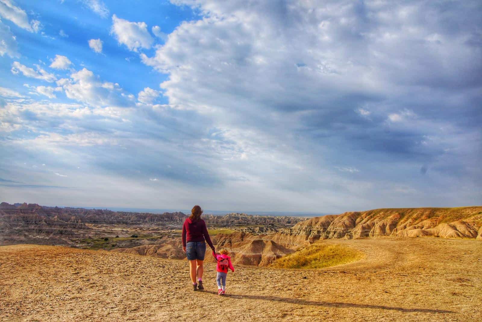 Our South Dakota Road Trip featured the Badlands on Day 1