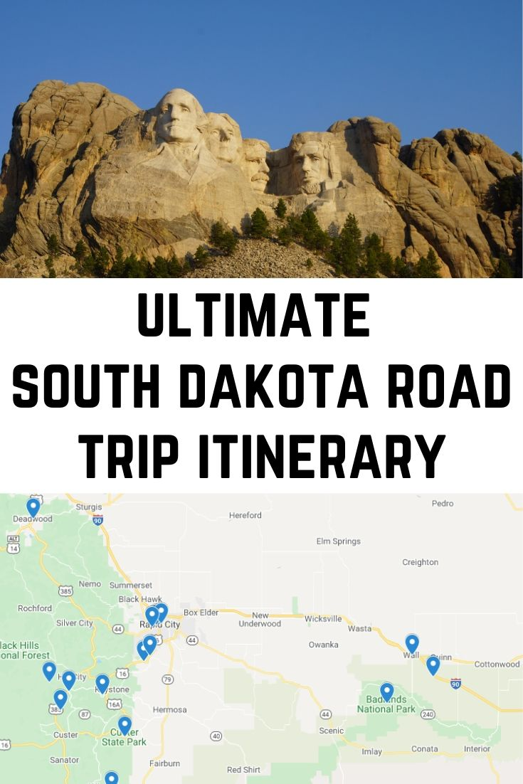 Ultimate South Dakota Road Trip Itinerary