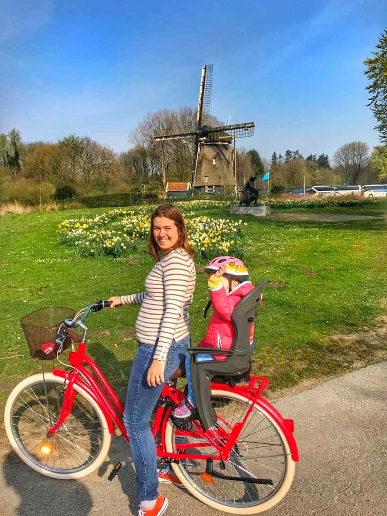 Renting a Bike in Amsterdam with toddlers