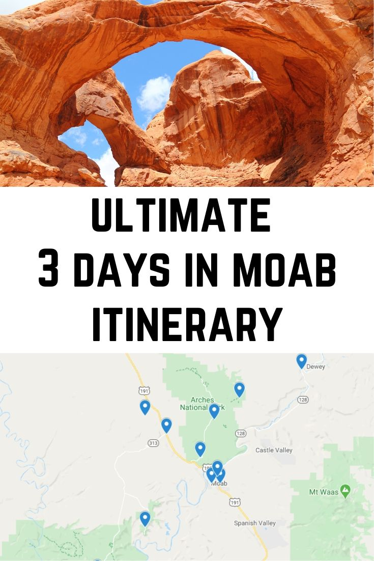 ultimate 3 days in moab itinerary