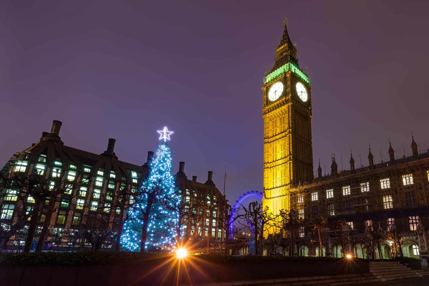 Best things to do in London at Christmas itinerary