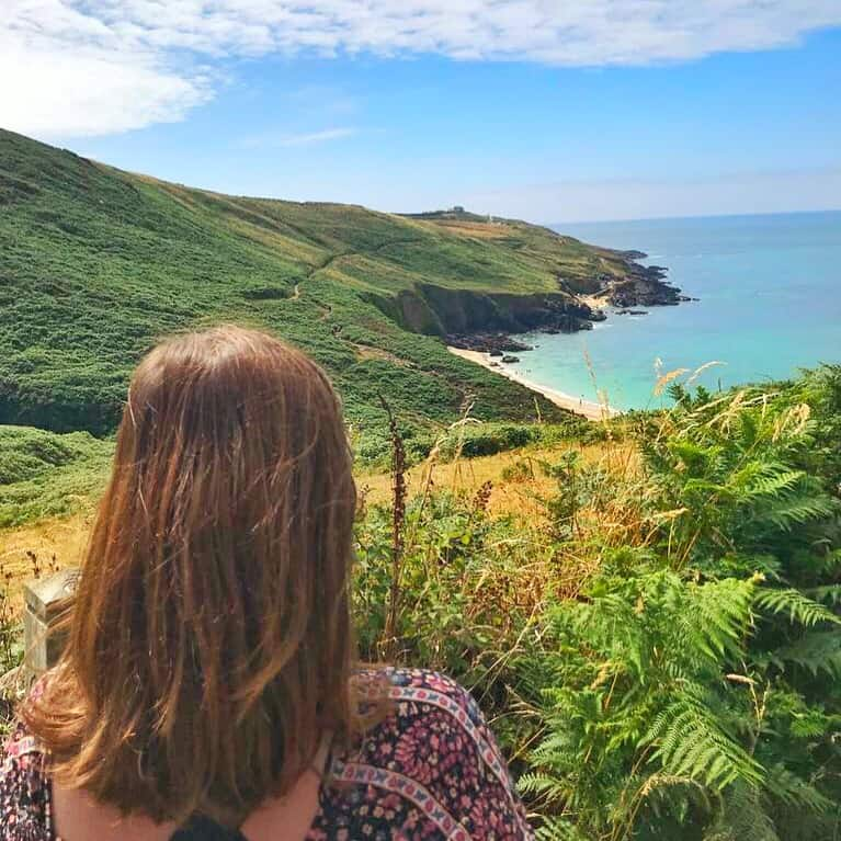 Portheras Cove - a Cornwall hidden gem beach