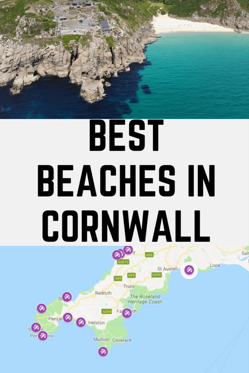 Best Beaches in Cornwall. Most Beautiful Beaches in Cornwall - North Cornwall Beaches - South Cornwall Beaches - Cornwall Hidden Gem Beach - #cornwall #cornwalltravel #cornwallbeach #cornwallbestbeaches #beach #beautifulbeaches