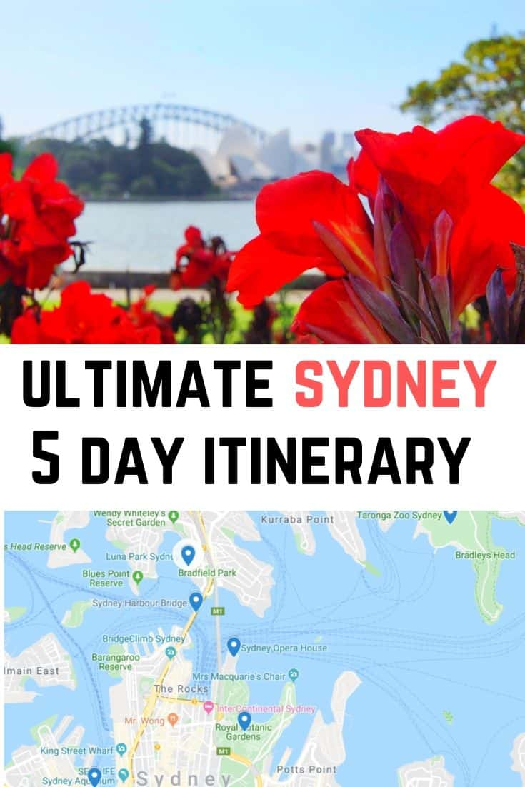 5 days in sydney itinerary