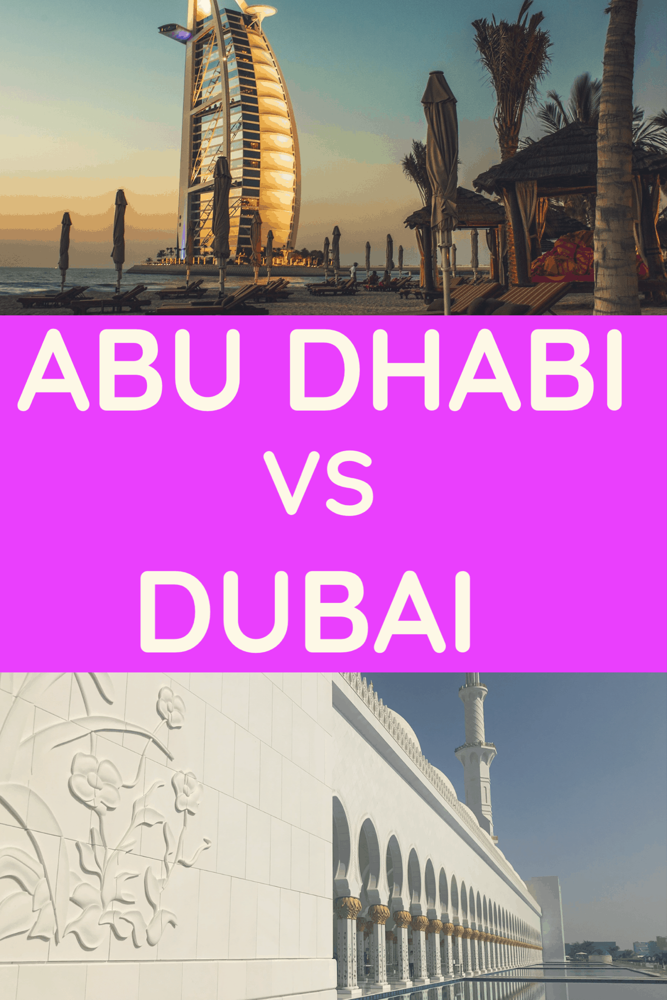 Abu Dhabi Vs Dubai - Dubai Vs Abu Dhabi - what is the best UAE holiday? UAE travel - #uaetravel #dubai #abudhabi #dubaitravel #abudhabitravel #abudhabivsdubai