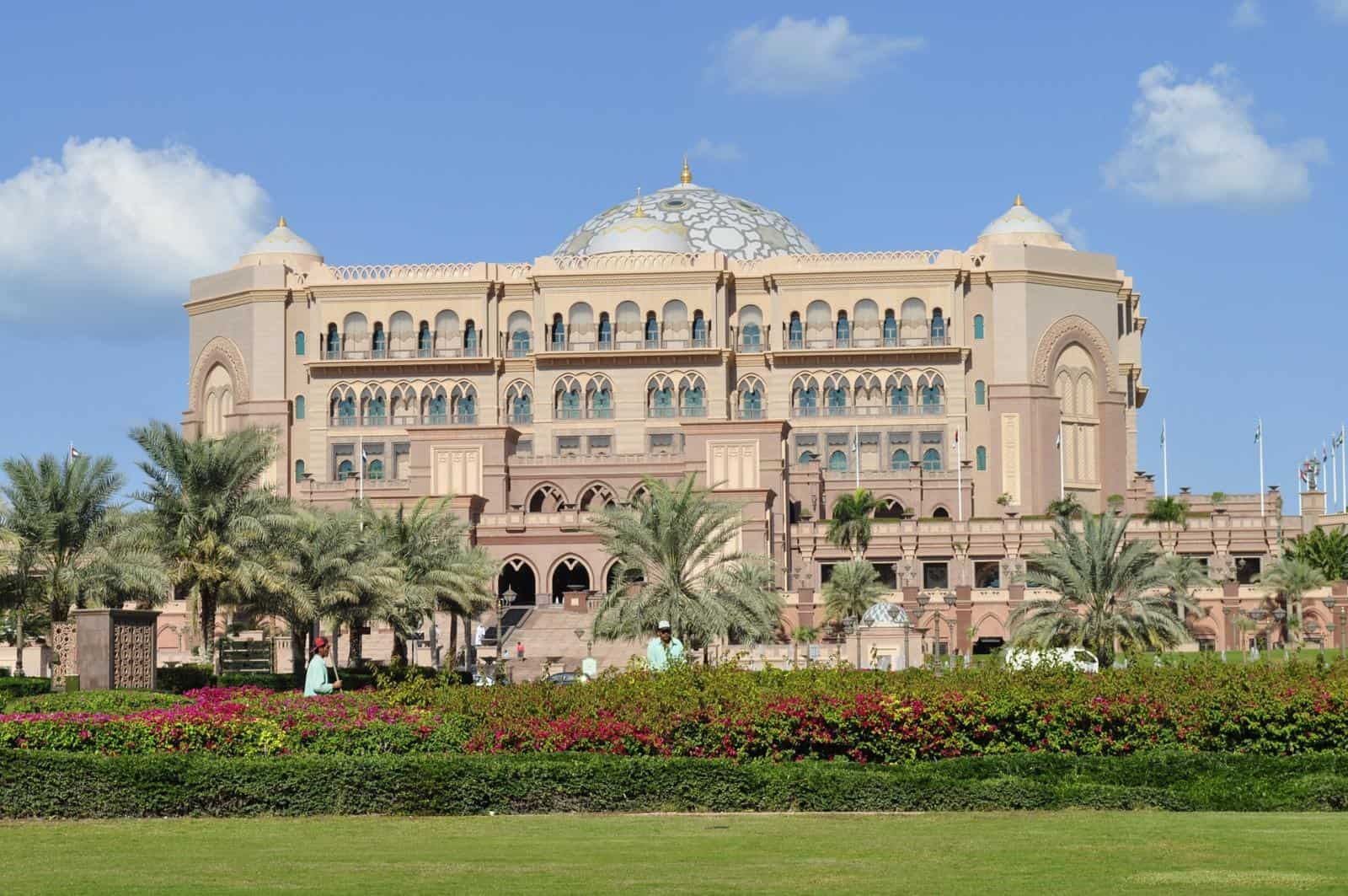 Emirates Palace Hotel - Ultimate Abu Dhabi Itinerary