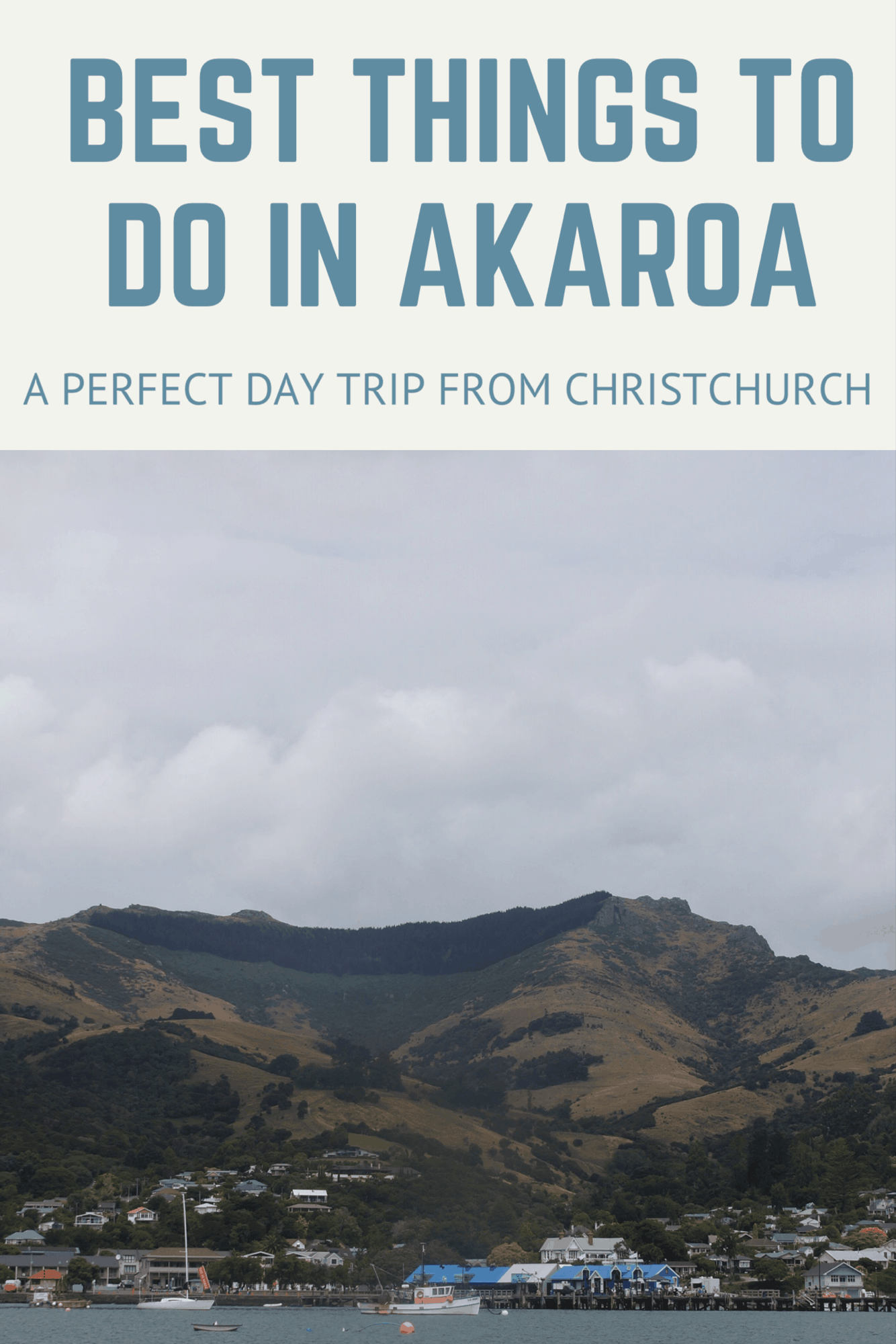 Best Things to Do in Akaroa New Zealand! Akaroa - a Perfect day trip from Christchurch! Wildlife Day tRips from Christchurch including Akaroa best things to do #akaroa #visitnewzealand #visitchristchurch #christchurch #akaroaharbour #akaroacruise #newzealandcruise