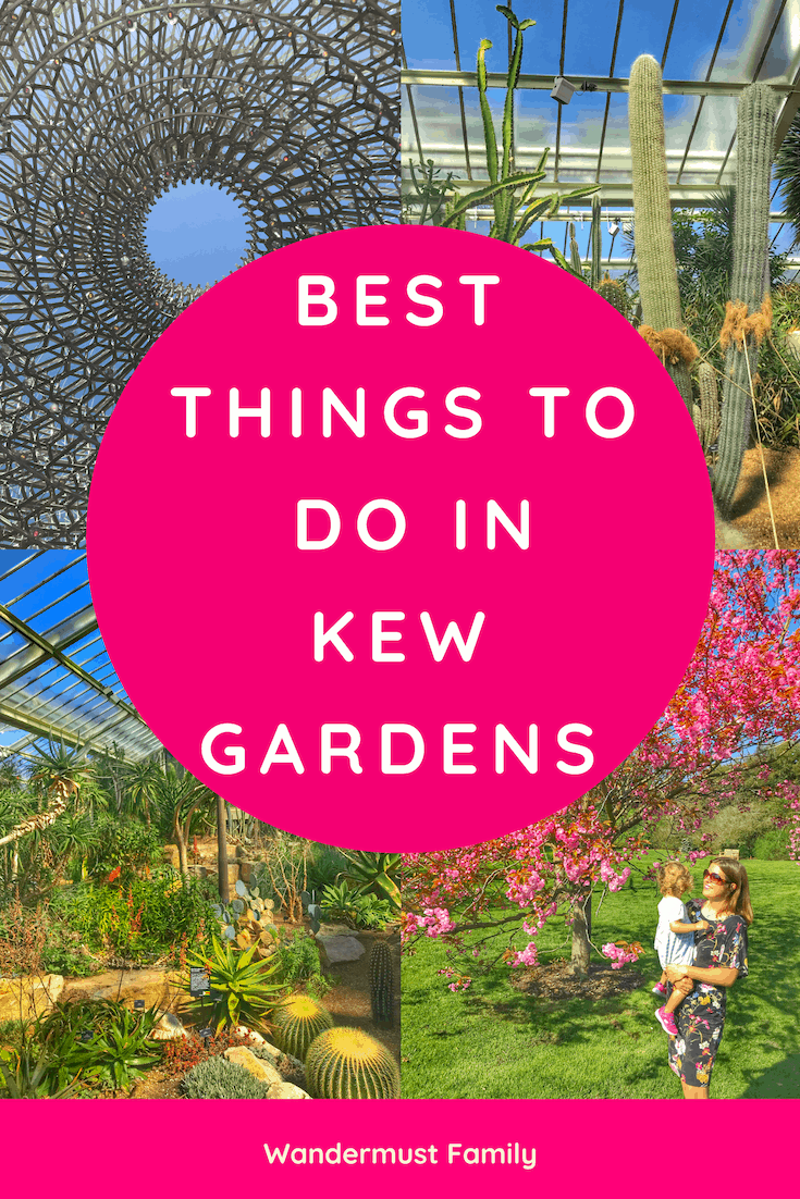 Best things to do in Kew Gardens with kids or without - best botanical garden in the world! #kew #kewgardens #londontravel #visitlondon #westlondon #botanicalgardens #botanicgarden #gardenersworld #gardens